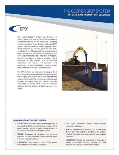 GEOPIER GP3